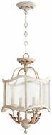 Quorum 2906-13-70 Salento Persian White Entryway Light Fixture