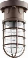 Quorum 301-86 Belfour Nautical Oiled Bronze Exterior Ceiling Light Fixture