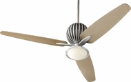 Quorum 30603-16 Alumina Brushed Aluminum w/ Silver Blades Halogen 60  Ceiling Fan