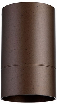 Quorum 320-86 Cylinder Contemporary Oiled Bronze Outdoor Ceiling Lighting