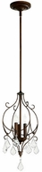 Quorum 3205-39 Ariel Traditional Vintage Copper Foyer Lighting