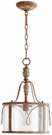 Quorum 3506-94 Salento French Umber Drum Pendant Lighting