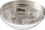 Quorum 3508-14-65 Contemporary Satin Nickel w/ Clear/Seeded 14 Ceiling Lighting
