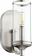 Quorum 5044-1-65 Collins Contemporary Satin Nickel Wall Sconce