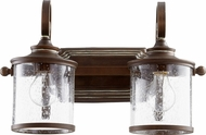 Quorum 5073-2-39 San Miguel Vintage Copper 3-Light Bath Lighting