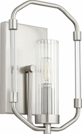 Quorum 5163-1-65 Citadel Modern Satin Nickel Wall Sconce
