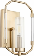 Quorum 5163-1-80 Citadel Modern Aged Brass Light Sconce