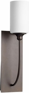 Quorum 5209-1-86 Celeste Contemporary Oiled Bronze Wall Lamp