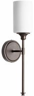 Quorum 5309-1-86 Celeste Modern Oiled Bronze Wall Light Sconce