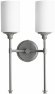 Quorum 5309-2-17 Celeste Modern Zinc Wall Lighting
