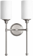 Quorum 5309-2-65 Celeste Contemporary Satin Nickel Wall Sconce Light