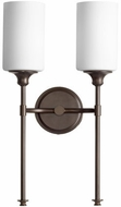 Quorum 5309-2-86 Celeste Contemporary Oiled Bronze Wall Lamp