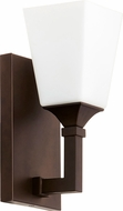 Quorum 5423-1-86 Wright Contemporary Oiled Bronze Lighting Sconce