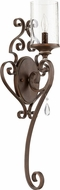 Quorum 5473-1-39 San Miguel Vintage Copper Lamp Sconce