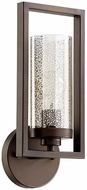 Quorum 553-1-86 Julian Contemporary Oiled Bronze Lighting Sconce