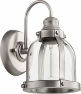 Quorum 586-1-92 Contemporary Antique Silver Wall Light Sconce