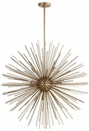 Quorum 600-10-60 Electra Contemporary Aged Silver Leaf 35  Hanging Light