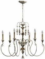 Quorum 6006-6-70 Salento Persian White Chandelier Light