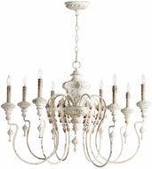 Quorum 6006-8-70 Salento Persian White Chandelier Light