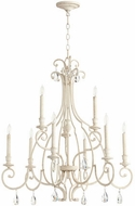 Quorum 6014-9-70 Ansley Traditional Persian White Ceiling Chandelier