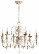 Quorum 6016-6-70 Salento Persian White Hanging Chandelier