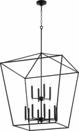 Quorum 604-12-69 Gabriel Contemporary Noir Foyer Light Fixture