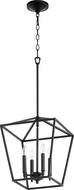 Quorum 604-4-69 Gabriel Contemporary Noir Foyer Light Fixture