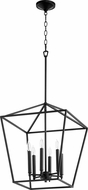 Quorum 604-6-69 Gabriel Contemporary Noir Foyer Light Fixture