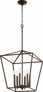 Quorum 604-6-86 Gabriel Contemporary Oiled Bronze Entryway Light Fixture
