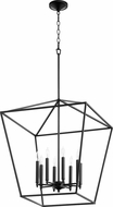 Quorum 604-8-69 Gabriel Contemporary Noir Foyer Light Fixture
