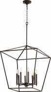 Quorum 604-8-86 Gabriel Contemporary Oiled Bronze Entryway Light Fixture