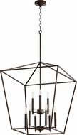 Quorum 604-9-86 Gabriel Modern Oiled Bronze Entryway Light Fixture