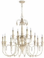 Quorum 6106-12-70 Salento Persian White Chandelier Light