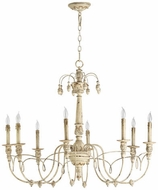 Quorum 6106-8-70 Salento Persian White Hanging Chandelier