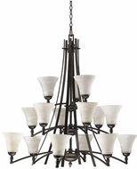 Quorum 6177-15-86 Aspen Oiled Bronze Lighting Chandelier