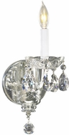 Quorum 631-1-514 Bohemian Katerina Chrome Lighting Sconce