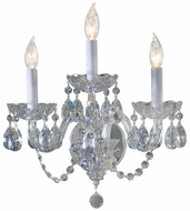 Quorum 631-3-514 Bohemian Katerina Chrome Lighting Wall Sconce
