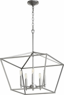Quorum 644-5-64 Gabriel Modern Classic Nickel Foyer Lighting