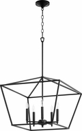 Quorum 644-5-69 Gabriel Contemporary Noir Foyer Light Fixture