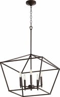 Quorum 644-5-86 Gabriel Contemporary Oiled Bronze Entryway Light Fixture