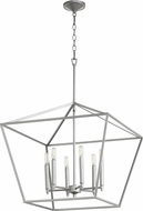 Quorum 644-6-64 Gabriel Modern Classic Nickel Foyer Lighting
