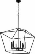 Quorum 644-6-69 Gabriel Contemporary Noir Foyer Light Fixture