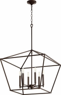 Quorum 644-6-86 Gabriel Contemporary Oiled Bronze Entryway Light Fixture