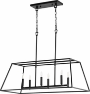 Quorum 654-6-69 Gabriel Modern Noir Kitchen Island Light