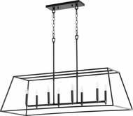 Quorum 654-8-69 Gabriel Modern Noir Kitchen Island Lighting