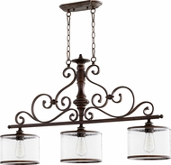 Quorum 6573-3-39 San Miguel Vintage Copper Island Lighting