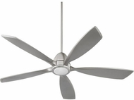 Quorum 66565-65 Holt Modern Satin Nickel w/ Satin Nickel Blades LED 56  Ceiling Fan