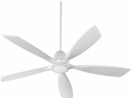 Quorum 66565-8 Holt Contemporary Studio White w/ Studio White Blades LED 56  Home Ceiling Fan
