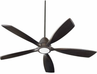 Quorum 66565-86 Holt Modern Oiled Bronze w/ Oiled Bronze Blades LED 56  Ceiling Fan