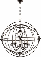 Quorum 6716-5-86 Cilia Contemporary Oiled Bronze Drop Lighting